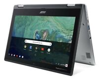 Chromebook Touchscreen Notebook Acer Spin 11 Convertible 2 in 1 Laptop