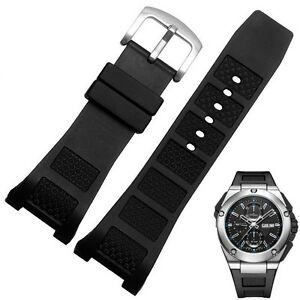 30*16MM Silicone Rubber Watchband Strap for IWCWatch Ingenieur Family IWC500501