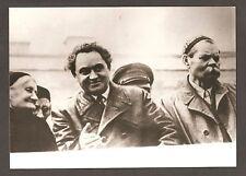 Georgy Dimitroff / Leipzig Trial Hero/ and Maxim Gorky /Russian Writer/ Photo