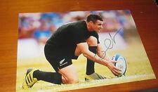 "Dan Carter (NZ All Blacks) signed 8""x12"" Photo -Man of Match RWC 2015 fin"