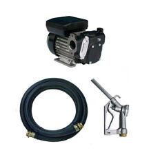 Bunded Diesel/Fuel Storage Tank 240v Transfer Pump Kit 56l/min