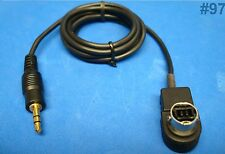 ALPINE KCA-235B 3.5MM MP3 iPOD iPHONE AUX INPUT ADAPTOR CABLE 420i 121 US SELLER