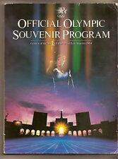 1984 official Olympic Souvenir Program Los Angelas