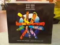"DEPECHE MODE "" TOUR OF THE UNIVERSE BARCELONA 20/21.11.09  - 2CD+1DVD"