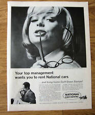 1966 National Car Rental Ad   Top Management