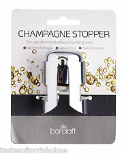 Bar Craft by Kitchen Craft Champagne Sparkling Wine Fizzy Drinks Bottle Stopper