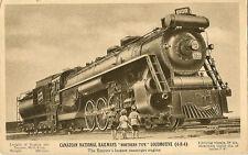 RAILWAY :  Canadian National Railways 'Northern Type ' Locomotive (4-8-4)-CNR