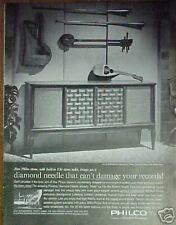 1963 Philco Radio/Record Player Guitar Type Instruments
