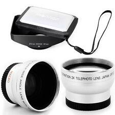 37mm 16:9 Hood,Wide Angle,Tele Lens for Panasonic SDR-H18,H79K,H80,S100,S150,S26