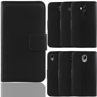 New For Various Phone - Cover Luxury Genuine Real Leather Flip Case Book Wallet