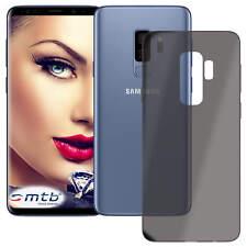 Custodia di TPU ultra slim per Samsung Galaxy S9 Plus (G965) - trasparente/nero