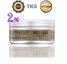 2 x TIGI Bed Head B For Men Matte Seperation Workable Wax - Official TiGi Stock