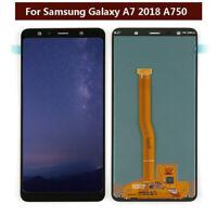 OLED Para Samsung Galaxy A7 2018 A750 A750F Pantalla táctil LCD Negro ARES