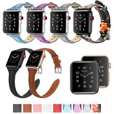 Fintie Leather Wrist Band For Apple Watch Series 5/4/3/2/1 44mm 42mm 40mm 38mm