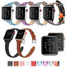 Fintie Leather Wrist Band For Apple Watch Series 4/3/2/1 44mm 42mm 40mm 38mm