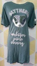 Primark Harry Potter Slytherin Ladies Nightdress Long T-Shirt Green Pajamas Bnwt