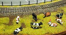 20 Kühe 1:87 H0 für die Modelleisenbahn oder Dioramen