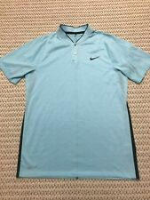 **MINT** NIKE TIGER WOODS COLLECTION DRI-FIT BLADE COLLAR GOLF SHIRT SMALL