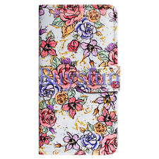 Covdo Peony Flower Wallet Leather Cover Case For Samsung Galaxy S9