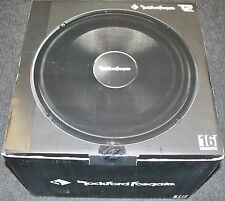 "NEW ROCKFORD FOSGATE T2S1-16 POWER 16"" T2 SINGLE 1-OHM SUBWOOFER SPEAKER NIB"