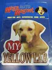 Yellow Lab Labrador Retriever Dog Pet Decal Auto Car Truck Magnet Decoration