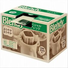 New! AGF Blendy Regular Drip Coffee Pack Special Blend 100cups Japan Import!