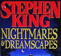 Nightmares and Dreamscapes Stephen King (1993, Hardcover Book) 1ST ED - EUC