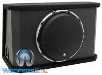 "JL AUDIO CVS112RG-W6V2 12"" DUAL 4-OHM 12W6V2-D4 SUBWOOFER SPEAKER ENCLOSURE BOX"