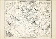 Old map London 1877 #4 reproduction - Leyton