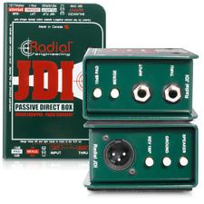 Radial JDI MK3 passive direct DI box w/15db pad