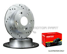 MINTEX REAR DISCS AND PADS 300mm FOR AUDI A4 QUATTRO 2.0 TD 143 BHP 2008-11