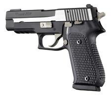 Hogue Grip For A Sig Sauer P220 DA/SA - Black Piranha G-10 20139