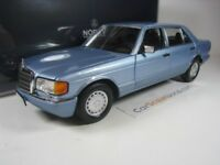 MERCEDES BENZ 560 SEL 1991 W126 1/18 NOREV (PEARL BLUE METALLIC)