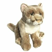 "Mountain Lion soft plush toy 11""/28cm National Geographic stuffed animal NEW"