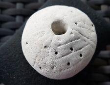 Stunning Pre Colombian soft stone Amulet/pendant/whorl beautiful artifact L43u