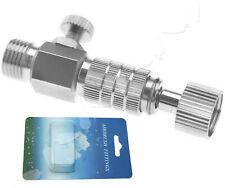 12,95€//1Stk Airbrush Schnellkupplung NW2,7 M5 Außengewinde Mini Kompressor Pis