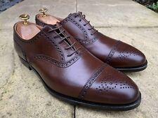 Crockett & Jones Westfield Dark Brown Burnish Oxford Shoe Bargain UK 9.5 US 10.5