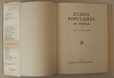 Etains populaires de France