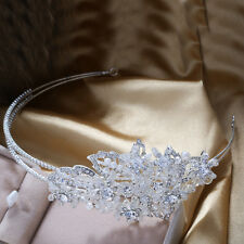 Bridal Headpiece Pearls Crystal Hair Alice Headband Hairband Wedding Accessory