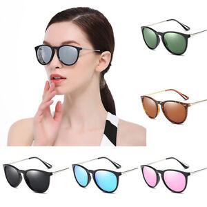 Sunglasses Vintage Womens Ladies Mirror Polarized Glasses Eyewear UV400 Shades