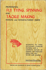 George Leonard Herter / Professional Fly Tying Spinning and Tackle Making Manual