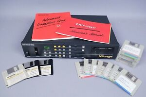 Uncommon Vintage Ensoniq Mirage Digital Multi-Sampler w Floppy Disk Samples