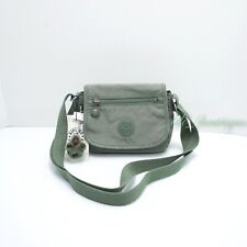 NWT Kipling AC8280 Sabian Crossbody Mini Shoulder Bag Polyamide Gentle Green $49