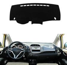 For Honda Fit 2010-2013 Black Dashmat Dashboard Mat Dash Cover Sun Visor Pad