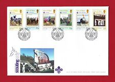 FDC Isle of Man - Centenary of Scouting - Issue Date 22nd February 2007
