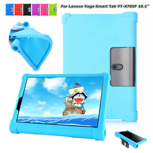 For 10.1'' Lenovo Yoga Smart Tab YT-X705F Tablet Cover Soft Silicone Back Shell