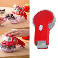 New Progressive Cherry Olive Pitter Quickly Pits 6 at Once Kitchen by Prepworks