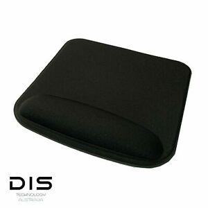 Black Mouse/Mice Mat/Pad Ergonomic Comfort Pad Computer PC Accessories Square