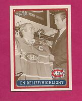RARE 1992-93 OPC #  61 CANADIENS RICHARD HIGHLIGHT  FANFEST LIMITED /5000 CARD