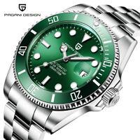 PAGANI DESIGN Watch Automatic Men 316L Steel Wrist Watch Noble Gift Box